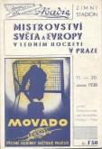 Literatura / MistrovstvĂ svÄ›ta a Evropy v lednĂm hockeyi v Praze (l)