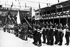 1947 / Slavnostní nástup účastníků (velký)